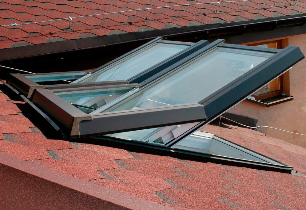 pvc kunststoff dachfenster skylight eindeckrahmen rollo. Black Bedroom Furniture Sets. Home Design Ideas